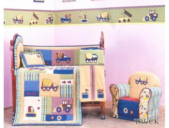Комплект для детской кровати ARYA CY 047 Truck