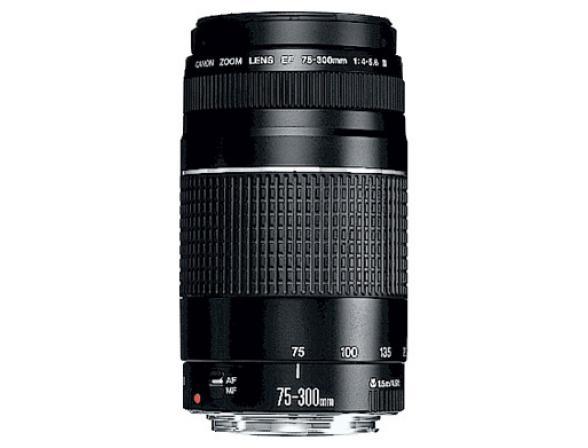Объектив Canon EF 75-300 f/4-5.6 III