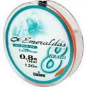 Леска плетеная Daiwa EMERALDAS 8 BRAID + SI #0,8 - 120