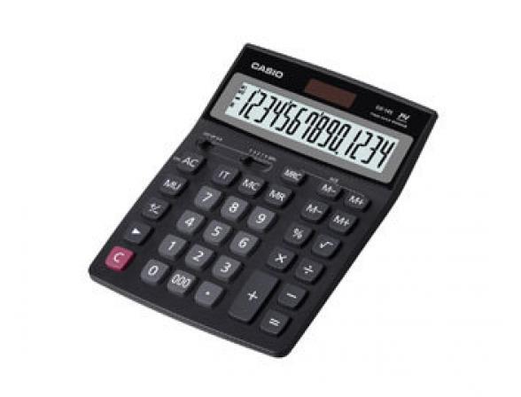 Калькулятор настольный бухгалтерский Casio casGX-14S