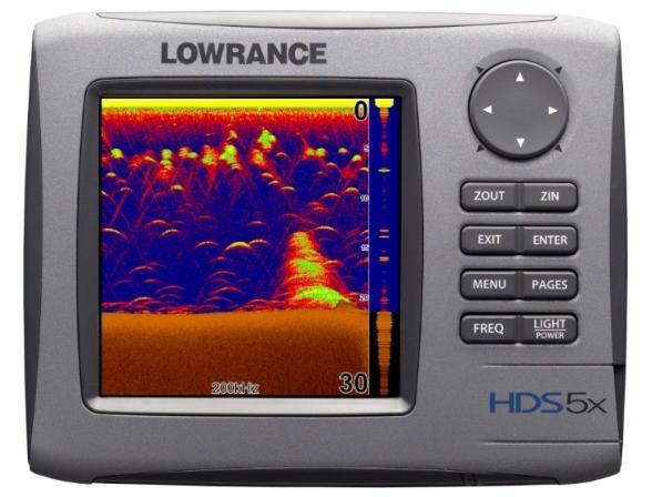 Картплоттер LOWRANCE HDS-5x 83/200 kHz