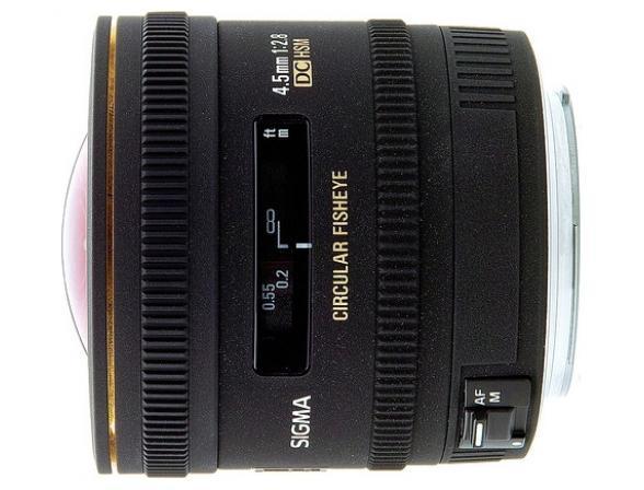 Объектив Sigma AF 4.5mm f/2.8 EX DC Circular Fisheye HSM SONY