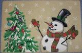 Коврик Mohawk 45х69 Снеговик