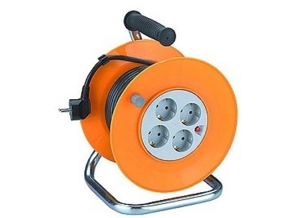 Удлинитель силовой ЭРА RP-4-3x1.0-30m с заземлением 30м 4гн 3х1мм2 (2)