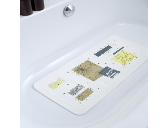 Коврик для ванной Bacchetta 36х71 Contrasti бежевый