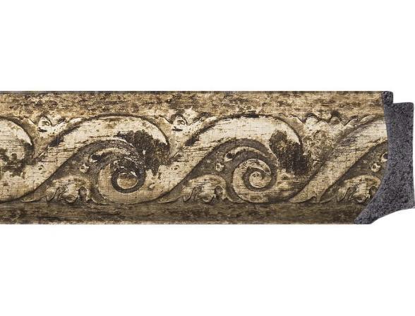 Зеркало в багетной раме EVOFORM фреска (56х136 см) BY 1259