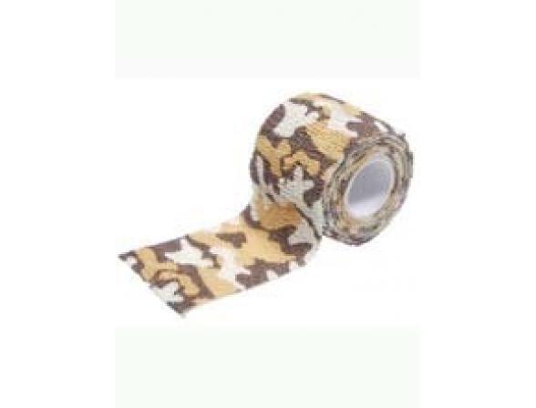 Самоклеящиеся лента Savotta Camo Elastic Bandage 5см*4,5м, пустынный камуфляж