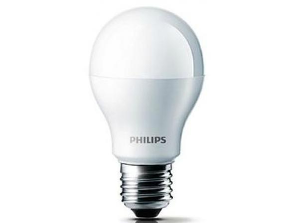 Лампа светодиодная Philips 193029 LED 60W E27 WW 230V A60 FR ND/4