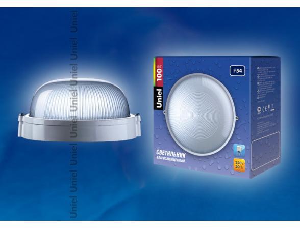 Светильник пылевлагозащищенный Uniel UWL-R-01-100-White