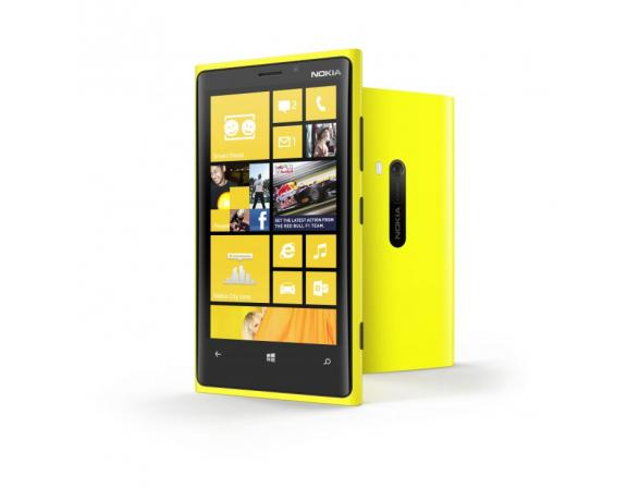 Смартфон Nokia Lumia 920 Yellow