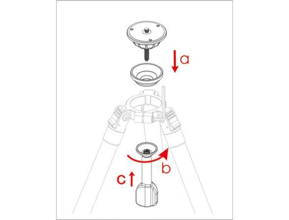 Адаптер Sirui Bowl Adapter Y-75A