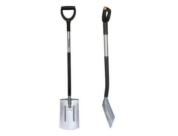 Лопата с закругённым лезвием облегчённая Fiskars 131500