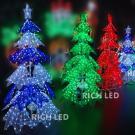 Светодиодная фигура Rich LED Ёлка, акриловая, 120 см,480 LED, 220/24В.