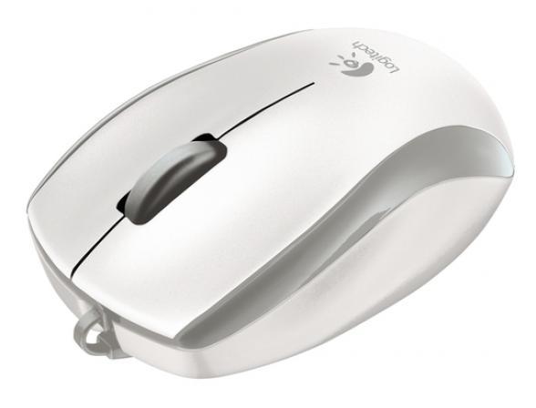 Мышь Logitech M125 Black USB, Silver