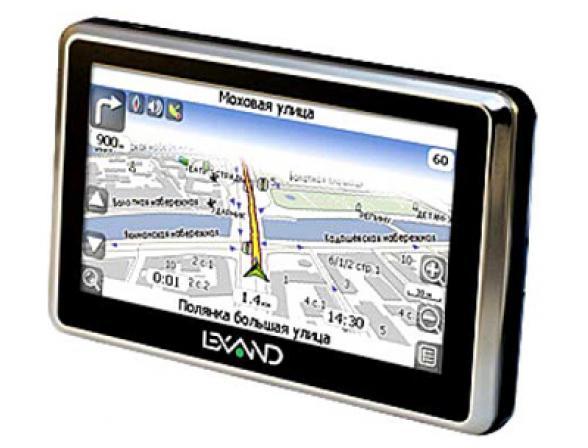 GPS-навигатор Lexand Si-515+А5