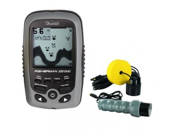 Эхолот JJ-Connect Fisherman 220 Duo Ice Edition Mark II