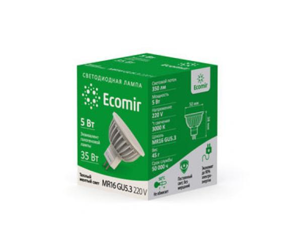 Светодиодная лампа Ecomir 43071