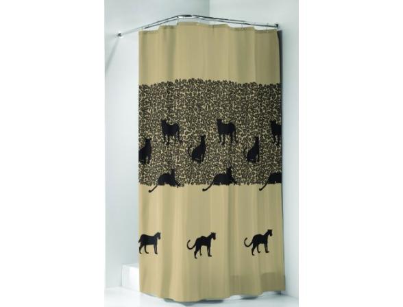 Шторка SEALSKIN Cheetah песочный 180х200см (232181365)
