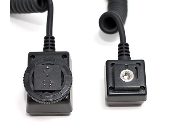Кабель Phottix Duo для управления двумя TTL вспышками 1,5 м