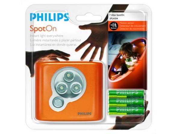 Светильник с датчиком движения Philips 818201 SpotOn Orange 1BL (10/1280)