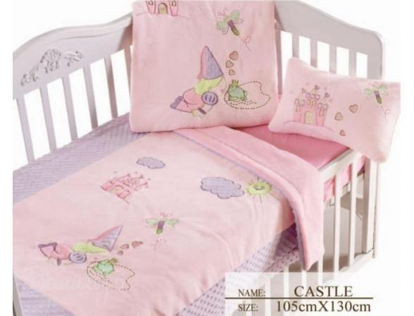 Плед для новорожденных ARYA Castle 105х130