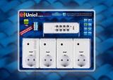 Пульт дистанционного управления светом Uniel USH-P004-G4-1000W-25M WHITE