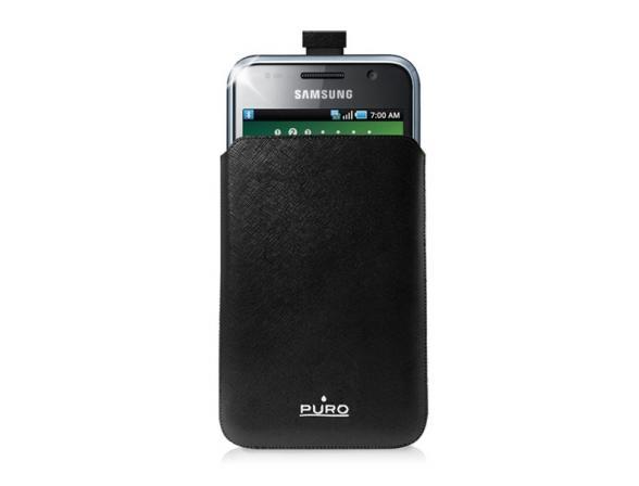 PURO Slim Essential Case для Samsung Galaxy Note (эко-кожа, черный)