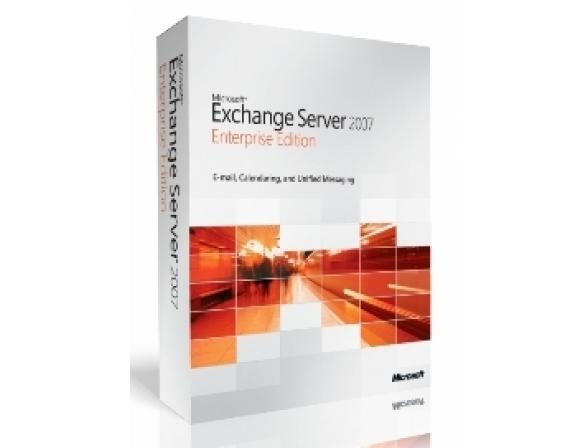 Microsoft ПО Exchange Svr Ent 2007 Russian Disk Kit