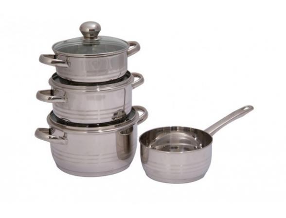 Набор посуды Regent Inox LUNA vitro 93-Lv10