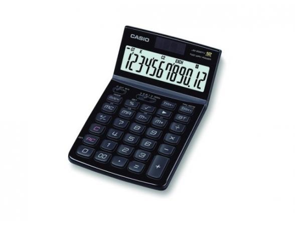 Калькулятор настольный Casio casJW-200TV-BK