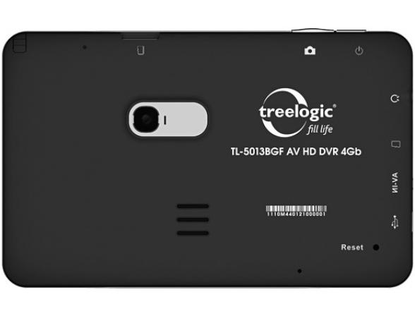 Навигатор Treelogic TL-5013BGF AV HD DVR 4Gb