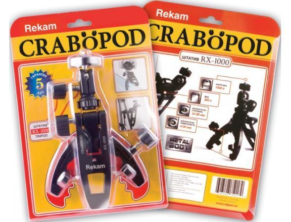 Миништатив Rekam Crabopod RX-1000