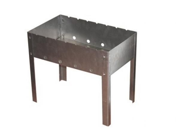 Мангал Амет 1с2175  390х290х384 (сталь 0,8мм)