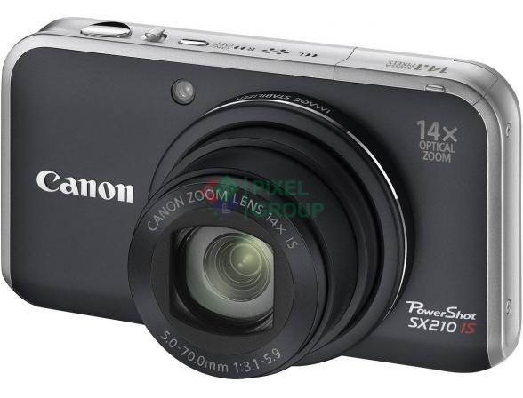Цифровой фотоаппарат Canon PowerShot SX210 IS