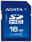 Флэш память ADATA 16Gb SDHC Card