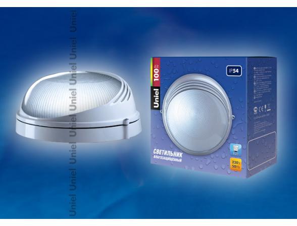 Светильник пылевлагозащищенный Uniel UWL-R-07-100-White