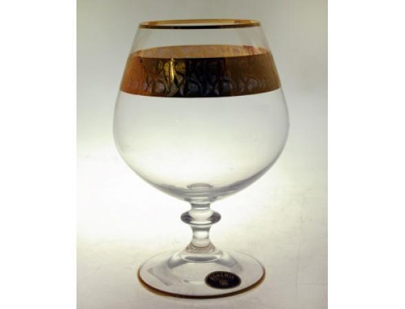Набор бокалов для коньяка Bohemia Crystall Энжи/436532K/400