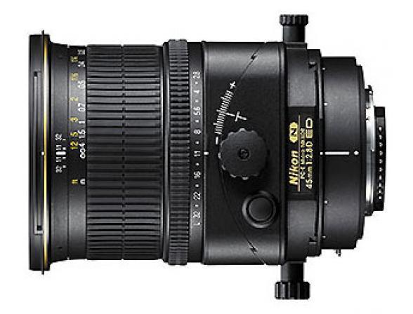 Объектив Nikon 45mm f/2.8D ED PC-E Micro Nikkor