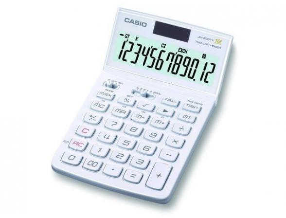 Калькулятор настольный Casio casJW-200TV-WE