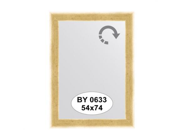 Зеркало в багетной раме EVOFORM травленое золото (54х74 см) BY 0633