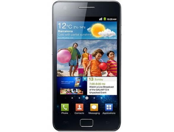 Смартфон Samsung I9100 Galaxy S II Black