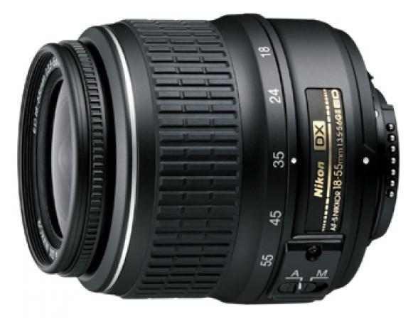 Объектив Nikon 18-55mm F/3.5-5.6G II AF-S DX ED