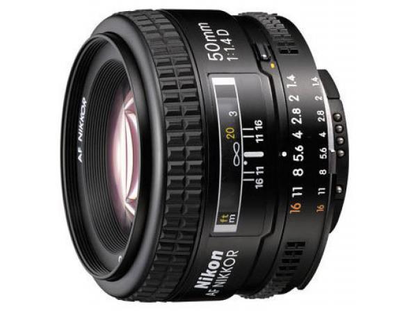 Объектив Nikon 50mm f/1.4D AI Nikkor
