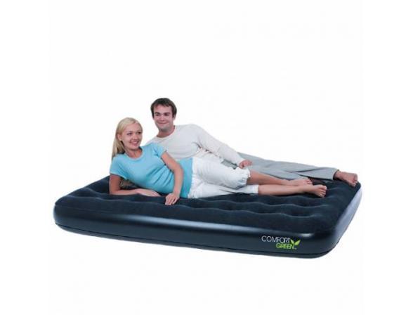 Кровать надувная Bestway Comfort Green Double 67380