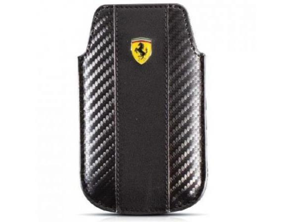 Чехол Ferrari для iPhone 4/4s Sleeve Challenge (черный)