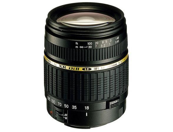 Объектив Tamron AF 18-200mm F/3,5-6,3 XR Di II LD Aspherical (IF) MACRO Canon EF