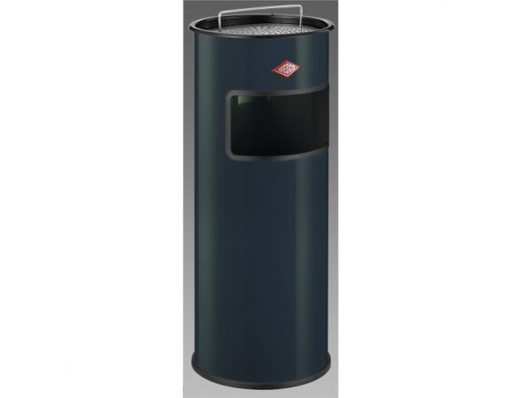 Мусорный контейнер-пепельница 30 литров - антрацит Wesco 150601-60