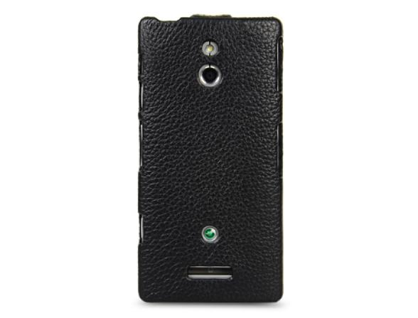 Чехол Melkco Premium Leather Case for Sony Xperia P(LT22i) - Jacka Type (Red LC)