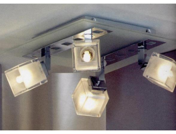 Спот потолочный Lussole LSL-2101-04