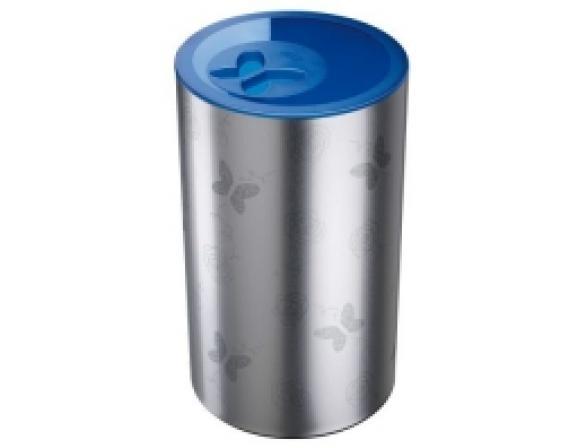 Бак для белья Meliconi 50л, синяя крышка